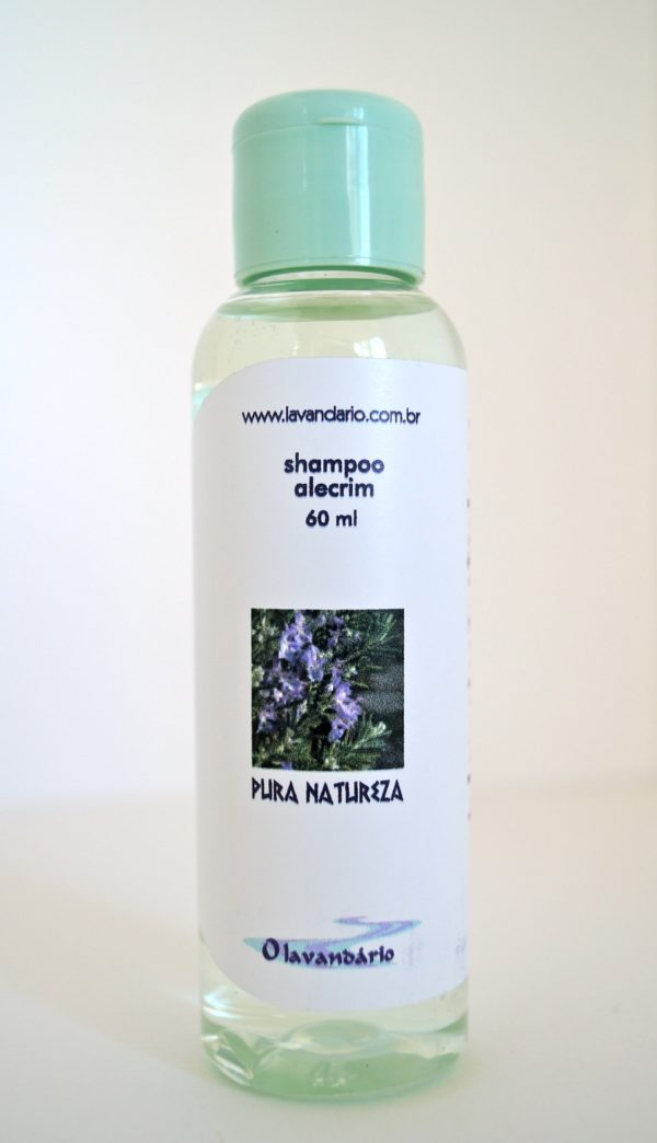 Shampoo Alecrim 60 ml