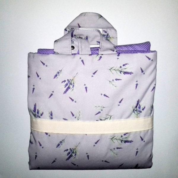 bolsa lilás